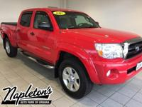 Recent Arrival! 2007 Toyota Tacoma SR5 in Red, LOCAL