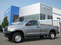 LOW MILES ! 2007 Toyota Tundra Regular Cab Long Bed 2WD