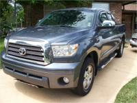 I'm selling my 2007 TOYOTA TUNDRA 4X4 Limited Edition.