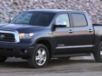 Tundra Limited, 4D CrewMax, i-Force 5.7L V8 DOHC,