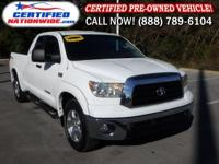 ONE OWNER - LOW LOW MILES! This 2007 Tundra is