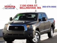 4X4 * TRD OFF-ROAD PACKAGE * LOW MILES * CREW CAB *