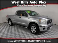 This 2007 Toyota Tundra SR5 will sell fast -4X4 4WD -V8