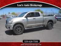 Options:  2007 Toyota Tundra Cool Lifted Double Cab