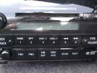 STOCK CD PLAYER FOR 2007-2010 TOYOTA TUNDRA...WORKS