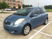 SUPER CLEAN MUST SEE! 2007 Blue Toyota Yaris, it has