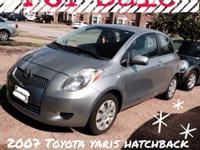 2007 Toyota Yaris 2 door HatchbackMileage: 105,000 Two
