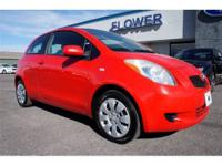 You're going to love the 2007 Toyota Yaris! Very clean