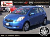 Options:  2007 Toyota Yaris 3Dr Hb Auto|Front Wheel