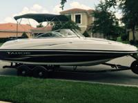 22.5 ft., 2007 Tracker Marine, Tahoe 228 Deck Boat with