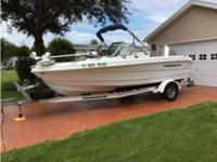 2007 Triumph 191 Fish Ski Boat is located in Lady