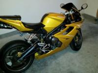 2007 Triumph Daytona with 19,xxx miles on the clock.