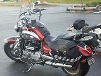 2007 Triumph Rocket 3. Beautiful bike. Will put any