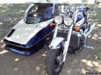 2007 Triumph Rocket III With Hannigan 2+2 Sidecar is