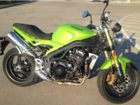 2007 Triumph Speed Triple 1050. 2007 Triumph Speed