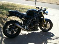 2007 Triumph Speed Triple 128 horsepower 78ft lb torque