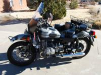 2007 Ural Gear Up in fresh condition. When lots of