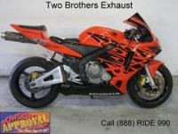 2007 Used Honda CBR600RR Crotch Rocket For Sale-U1841