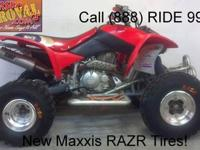 2007 Used Honda TRX450ER ATV For Sale-7H0021 In