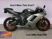 2007 Used Kawasaki Ninja 600 - For sale with only 3,501