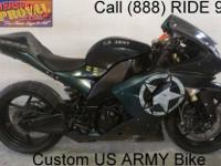 2007 used Kawasaki Ninja ZX10R sport bike for