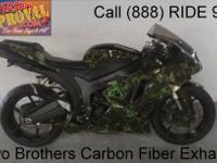2007 used Kawasaki Ninja ZX6R crotch rocket for