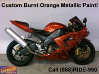 2007 Used Kawasaki Ninja ZX6R Crotch Rocket - For sale