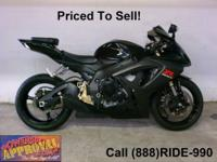 2007 used Suzuki GSXR600 crotch rocket for sale - only
