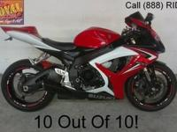 2007 Used Suzuki GSXR600 Crotch Rocket For Sale-U1756