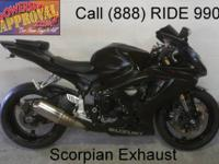 2007 used Suzuki GSXR600 for sale with all the extras!
