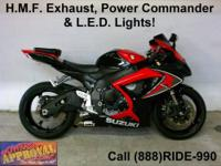 2007 Used Suzuki GSXR600 Sport Bike - For sale only