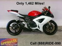 2007 Used Suzuki Motorcycle GSXR 600c.c. - The king of