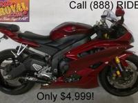 2007 Used Yamaha R6 Crotch Rocket For Sale-U1797 only