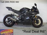 2007 Used Yamaha R6 For Sale-U1868 only $5999! Real