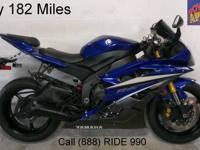 2007 Used Yamaha R6 Sport Bike For Sale-U1832 only