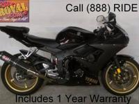2007 used Yamaha R6 sport bike for sale with only 3,663