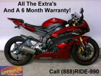 2007 Used Yamaha R6 - Sport bike for sale. Sharp yellow