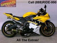 2007 Used Yamaha R6 - Sport bike for sale. Super clean