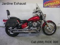 2007 Used Yamaha Vstar 650 Custom Midnight Edition For