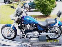 2007 Victory Hammer S 1634 cc Engine, 8,600 Miles