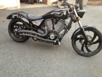 2007 Victory 8-Ball with really low miles 1365. I have