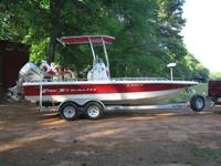 2007 VIP/BAYSTEALTH.  22FT 3 IN. 225HP HONDA four