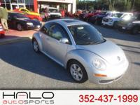 2007 VW BEETLE WITH AUTOMATIC 2.5LT ENGINE AND