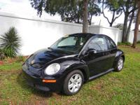 Volkswagen Certified, ONLY 66,301 Miles! New Beetle