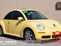 2007 VOLKSWAGEN BEETLE GLS WITH ONLY 80K MILES!! CLEAN