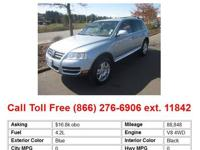 2007 Volkswagen Touareg V8 4dr All-wheel Drive SUV