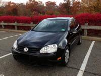 2007 VW Rabbit, 2-door hatchback, 5 speed manual