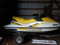 This super nice 3 person wave runner is a 2007 gti with
