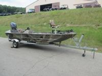 2007 WELDCRAFT 1652 MUV SPORTSMAN SC! A Yamaha 50 hp