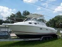 Good 270 Coastal Wellcraft with twin 200 horse power